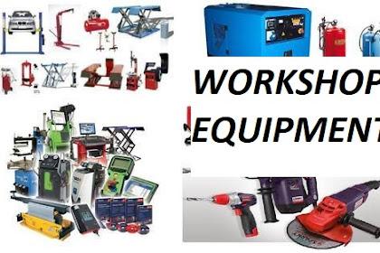 Pengertian Dan Macam - Macam Alat Workshop Equipment Dalam Bengkel Otomotif