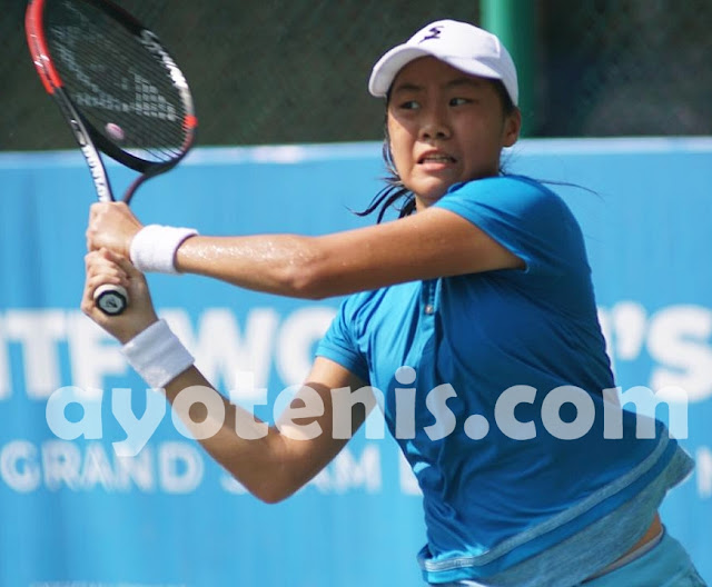 Libas Unggulan 5, Janice Tjen Melaju ke Semifinal JITA International Junior Tennis Tournament 2019