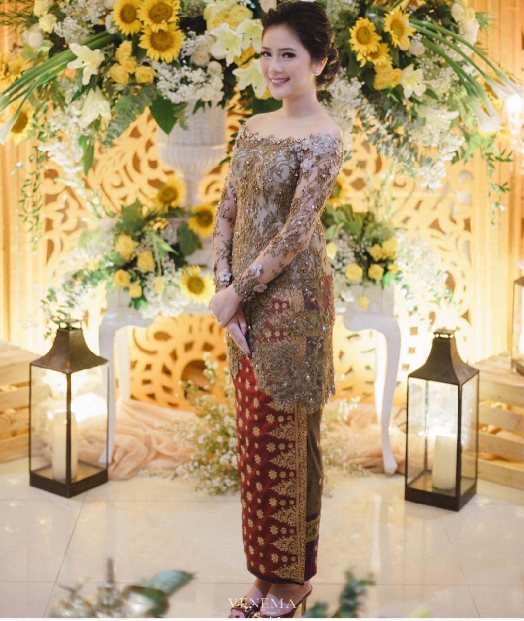 Model Baju Kebaya Songket Kekinian Dan Modern Model Baju 2018