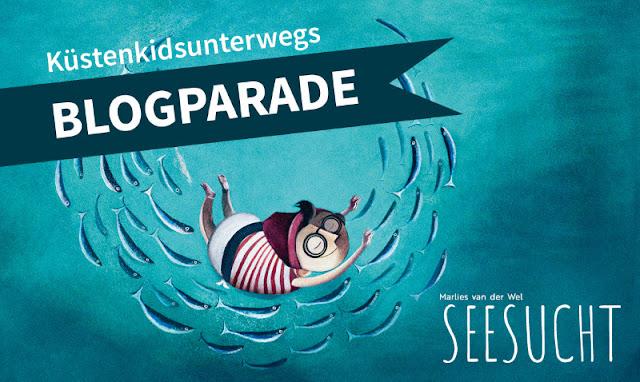 Meine Seesucht - meine Sehnsucht: Blogparade zu einem einzigartigen maritimen Kinderbuch. Bloggerinnen-Aktion und Buchvorstellungen zum Bilderbuch aus dem Verlag mixtvision.