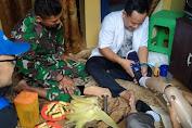Gandeng Daarut Tauhiid Sukabumi, Yon Armed 13 Gelar Aksi Sosial Pemberian Kaki Palsu Untuk Santri