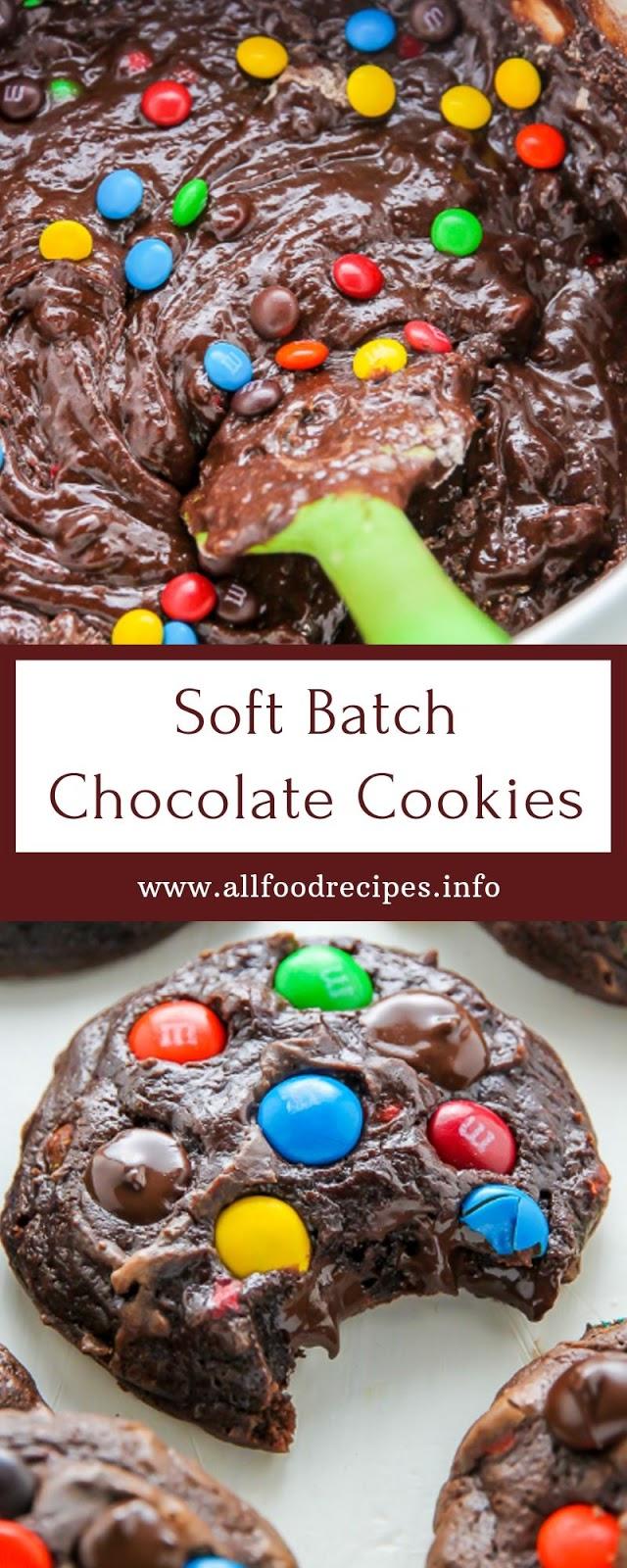 Soft Batch Chocolate Cookies
