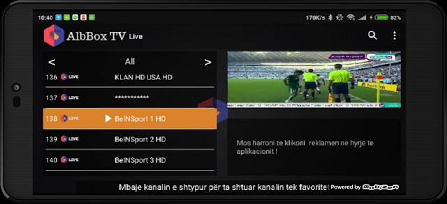 تحميل تطبيق AlbboxTv الجديد لمشاهدة جميع القنوات المشفرة على الاندرويد