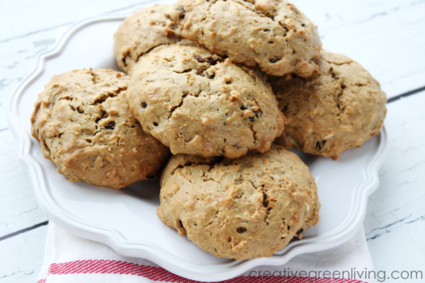 gluten free oatmeal raisin protein cookies - best protein cookie recipe