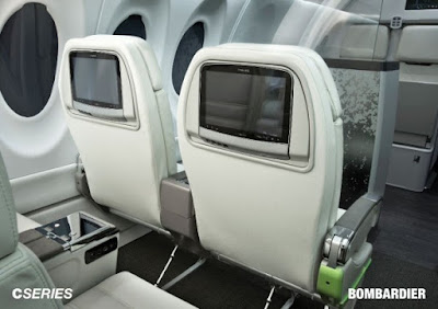 bombardier cs300 interior