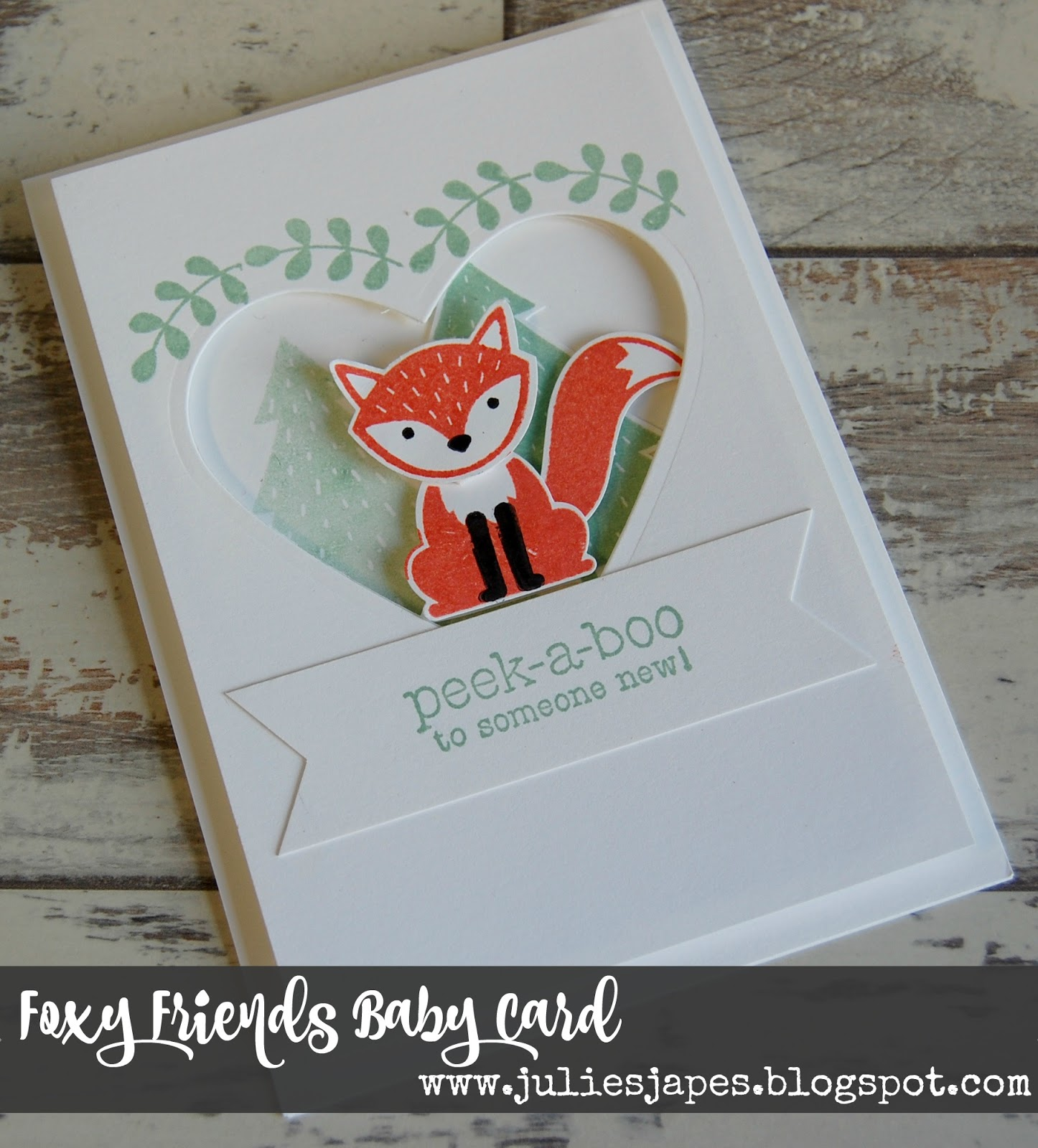 Foxy set of 3 cards