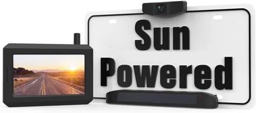 BOSCAM Solar Wireless Rear View Camera