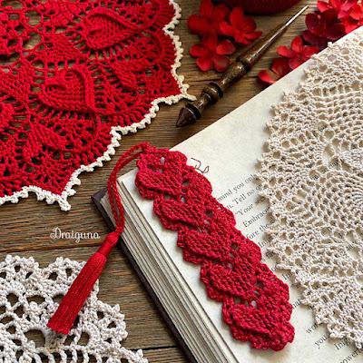 Crochet - Higher Love Bookmark
