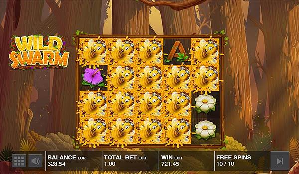 Main Gratis Slot Indonesia - Wild Swarm Push Gaming