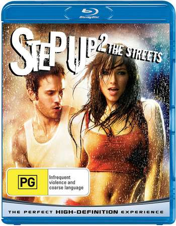 Poster Of Step Up 2 The Streets 2008 English 300MB BRRip 480p ESubs Free Download Watch Online