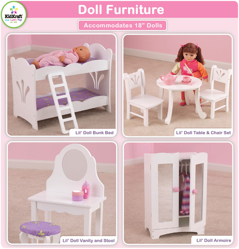KidKraft Toys  Furniture New Doll Furniture