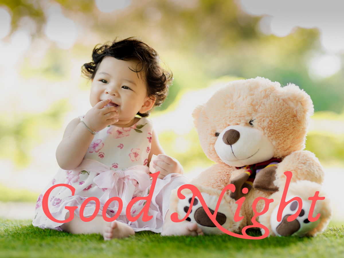 Cute Baby Good Night Images pics photo hd