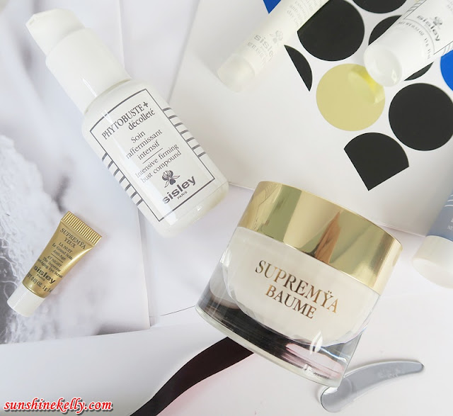 sisley SUPREMŸA Baume, sisley Phytobuste Décolleté, sisley, beauty Review, luxury anti aging skincare