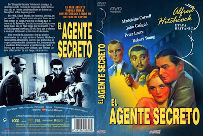 Cover, carátula, dvd: El agente secreto | 1936 | Secret Agent