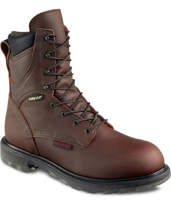 """Red Wing Mens 8"""" Waterproof Insulated Leather Boot 1412"""