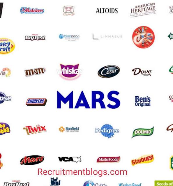 2021 Mars Internship Experience Virtual Program
