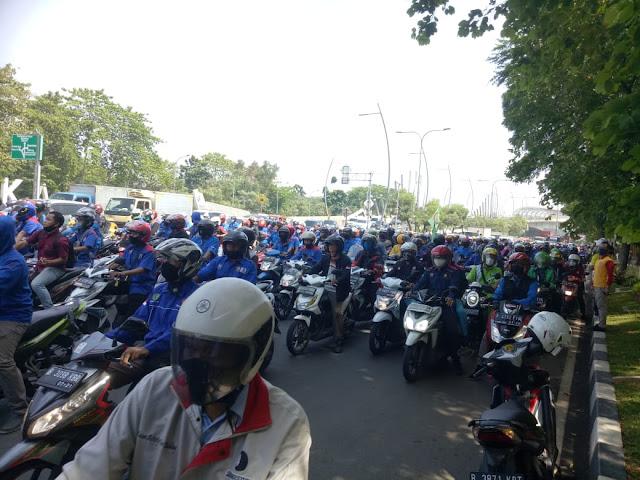 Omnibus Law Disahkan, Massa Buruh Akan Geruduk Istana Selama Sepekan