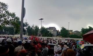 Aksi Unjuk Rasa Tolak RUU HIP di depan Gedung DPR/MPR RI