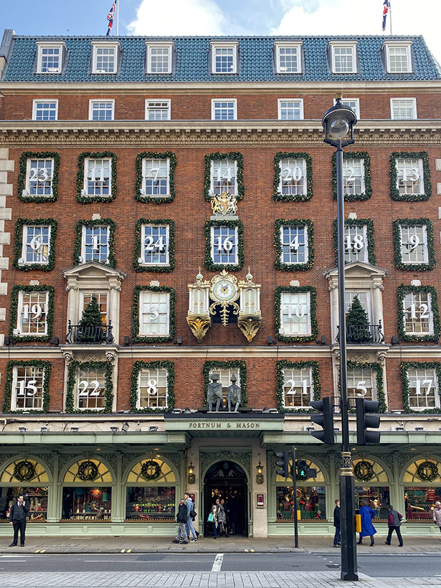St James's Christmas London Fortnum's