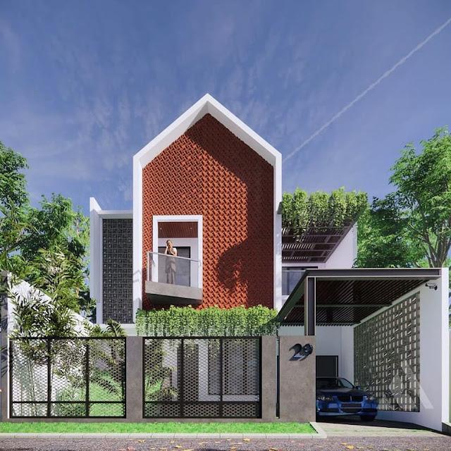 Model Rumah Minimalis 2 Lantai Sederhana Di Lahan Sempit