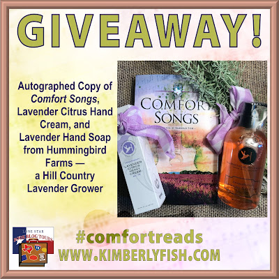 Comfort Songs giveaway graphic
