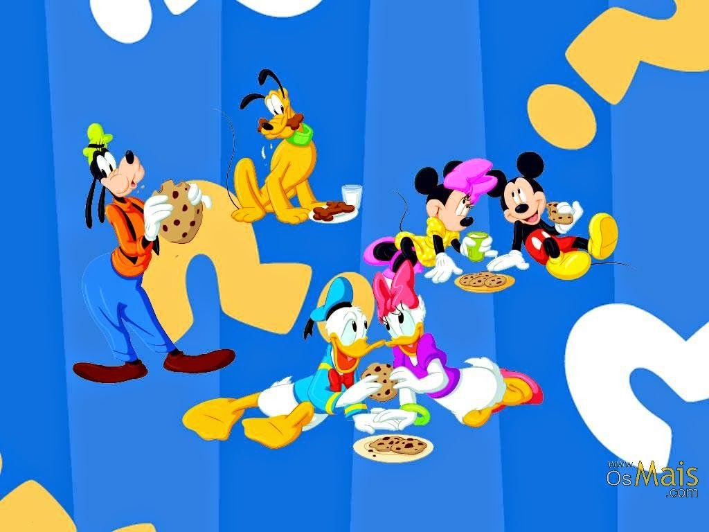 Mickey and Friends Free Printable Cards Invitations or Frames Oh