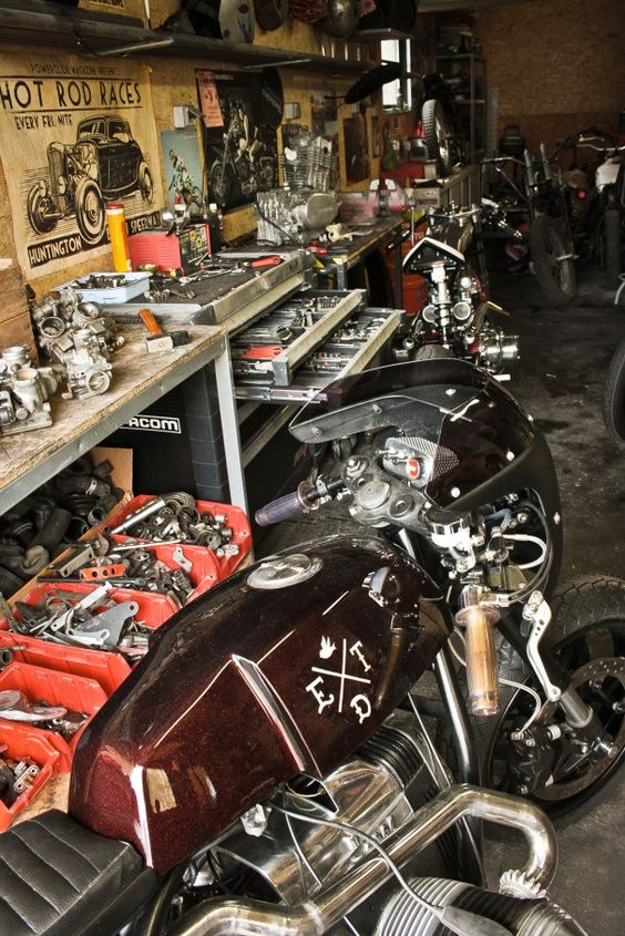 Ed Turner Motorcycles Workshop