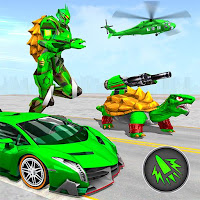 Turtle Robot Animal Rescue – Robot Car Transform Mod Apk