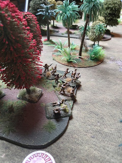 Another Japanese section takes up their positions