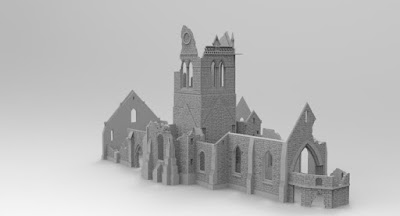 STRETCH GOAL £5500 OPENED LARGE CHURCH RUIN (wip) picture 3