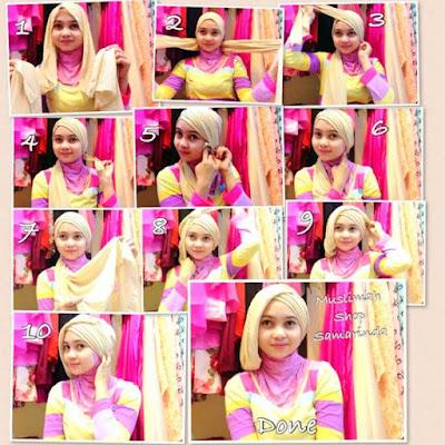 Tutorial Hijab Terbaru untuk Kebaya Hari Kartini maupun Wisuda Foto Full Step