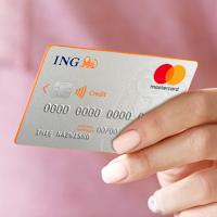 Premia 160 zł za kartę kredytową Mastercard w ING Banku Śląskim