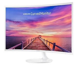 Monitor Komputer Samsung 32 Inch Curved LC32F391FWE