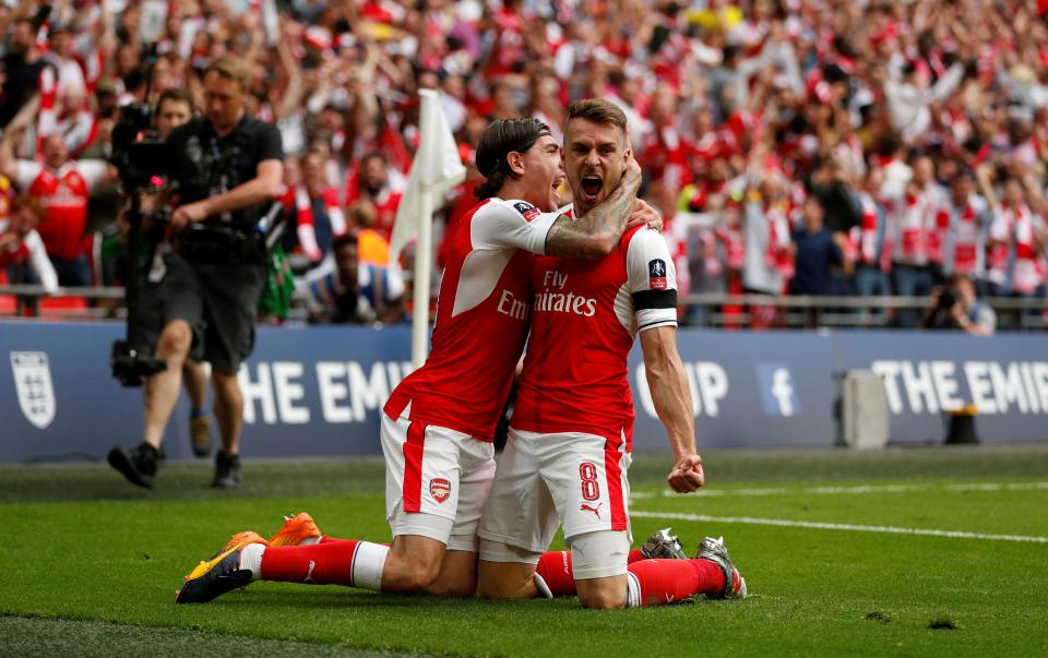 FA CUP FINAL: ARSENAL 2 - CHELSEA 1