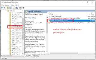 Cara Mengatasi Komputer tidak bisa Mengakses Server dan Share Folder