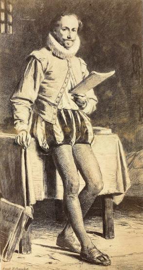 Portrait Miguel de Cervantes, Eugenio Ernest Hillemacher, Luis de Madrazo, Retratos de Miguel de Cervantes, Miguel de Cervantes, Cervantes, Biblioteca Nacional, Alejandro Cabeza, Museo Nacional del Teatro