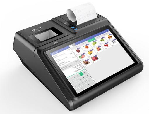 Bộ máy tính tiền bằng cảm ứng và in bill khổ 80mm gọn nhẹ, bền bỉ nặng chỉ 3,5 kg: 11.990.000đ