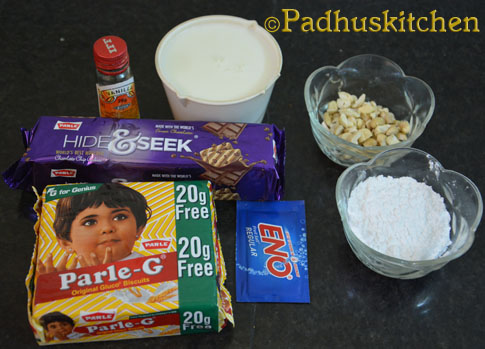 Parle G Biscuit Cake Quick Biscuit Cake Recipe Hide And