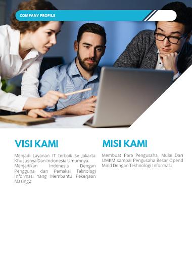 Company Profile Jasa pembuatan Website