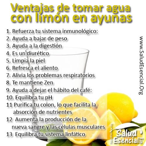 En con agua limon efectos ayunas del secundarios