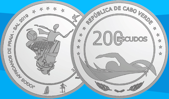 Cape Verde 200 escudos 2019 1st African Beach Games