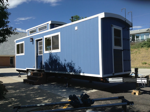 Blue Caboose tiny house