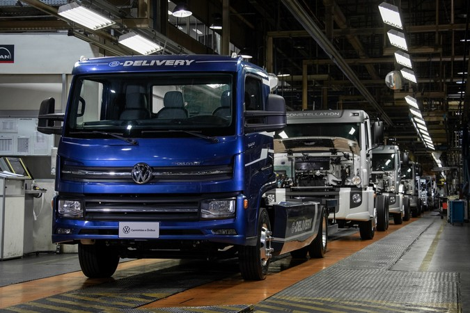 Dia histórico: VWCO começa produzir e-Delivery no Brasil