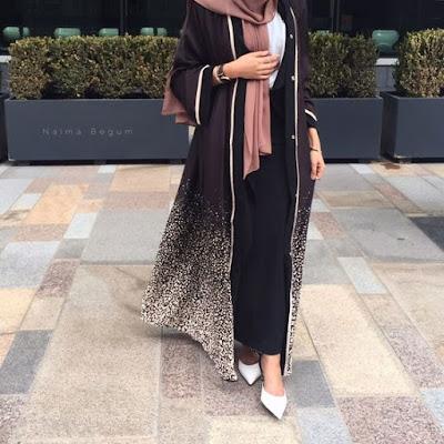 Top Abaya Dubai Mohajaba Chic 2019