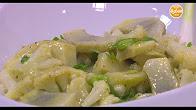 طريقة عمل سلطة قرنبيط بالبصل الأخضر مع عماد الخشت في طبخة ونص