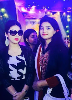 Apu Biswas and Singer Salma