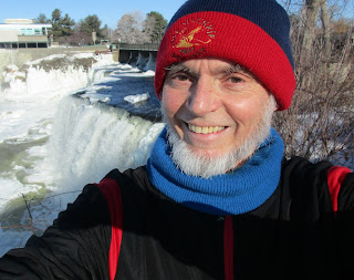 David Rain, tenor, by his muse - The Rideau Falls, Ottawa