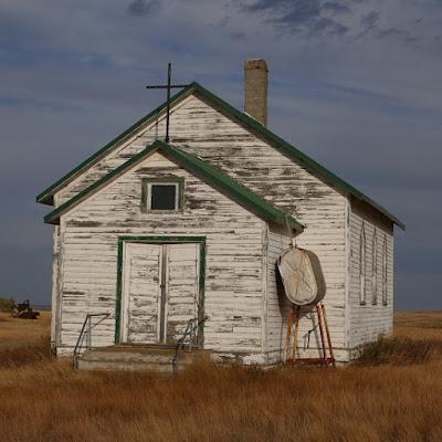church, Cadillac, Saskatchewan, historical