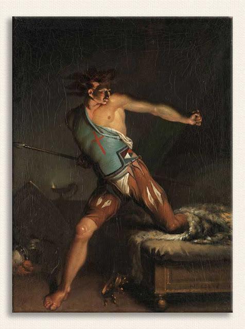 Nicolai Abildgaard, III Richard tablosu