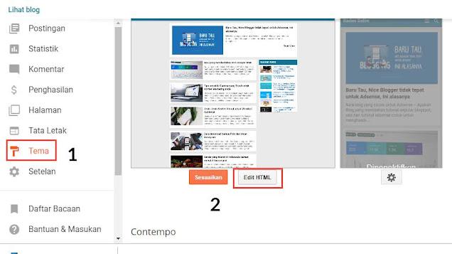 Edit-Template-Blogspot